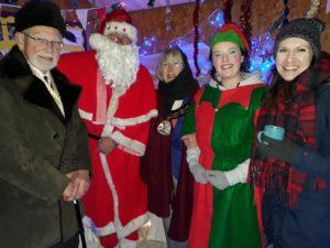 Father Christmas and Mayor