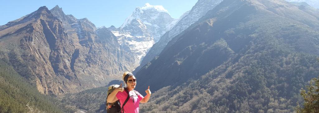 Zsuzsi Everest landscape