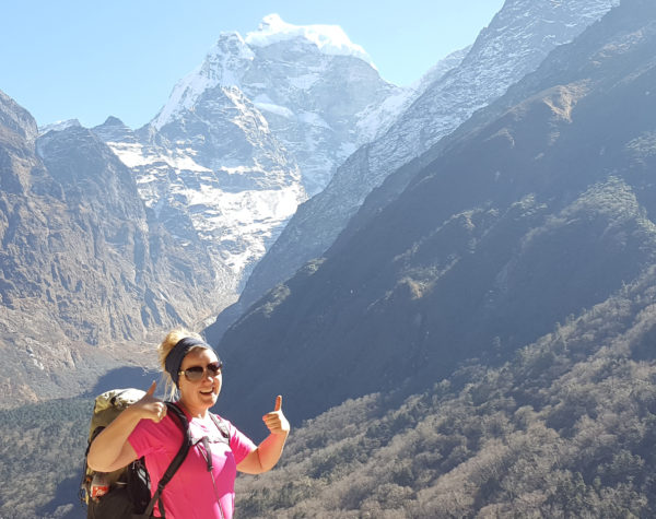 Zsuzsi's Mount Everest Trek<br>Help her fundraise