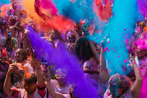 Run or Dye 5K<br>Get sponsored for St George's