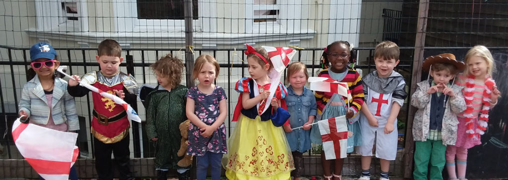 St George's Childcare St George's Day